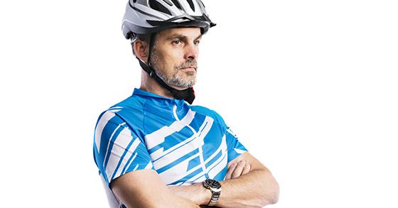 Cyclist Head